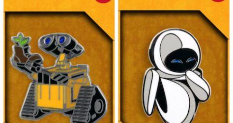 Wall-E Mondo Pins