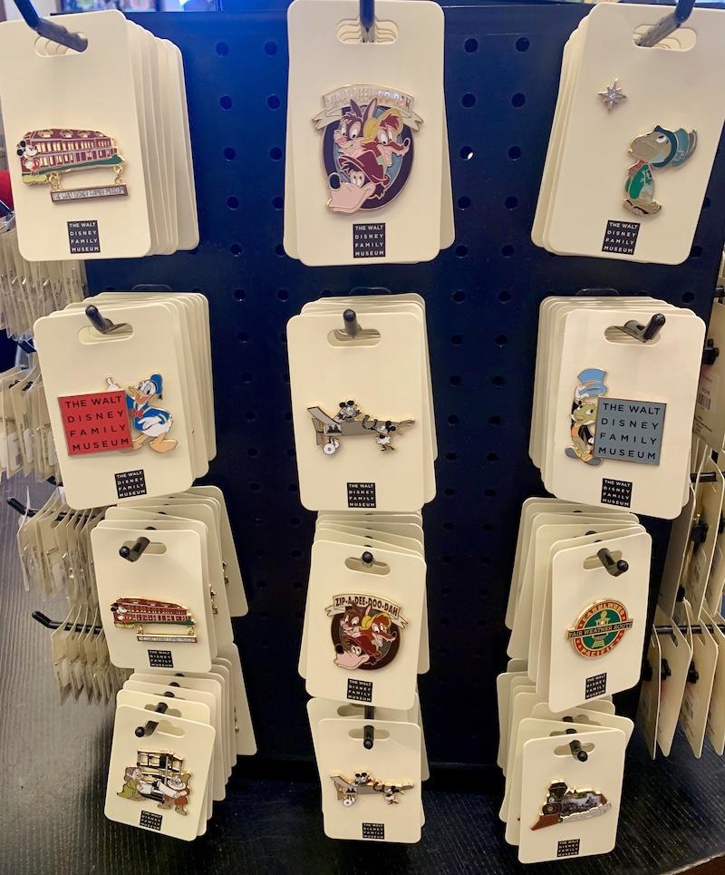 Walt Disney Family Museum 2019 Pins