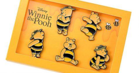 Winnie the Pooh Hunny Funny Sunny Pin Set