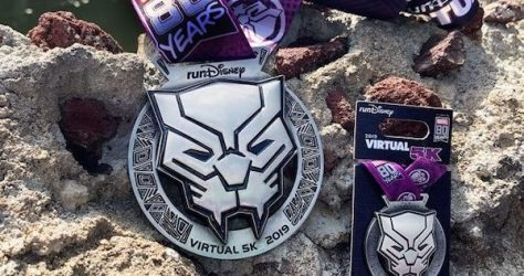 runDisney Virtual 5K 2019 Pin
