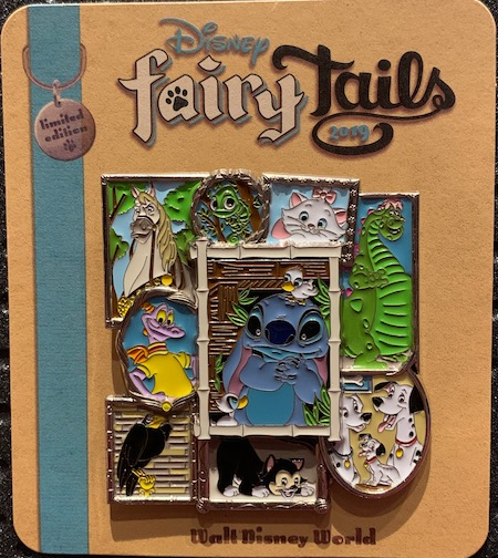 2018 Auction Lot Winner Disney FairyTails Pin