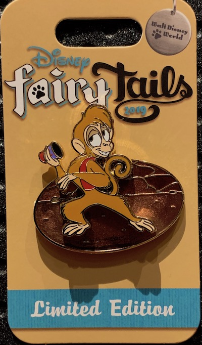 Abu's Escapades Disney FairyTails Pin