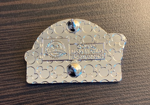 Back of Disney+ Founders Circle Pin