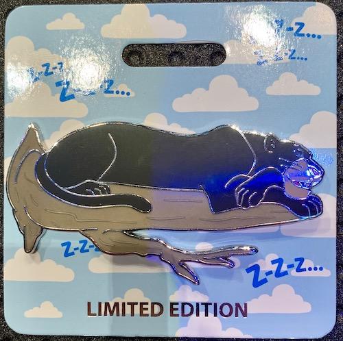 Bagheera Cat Nap WDI Pin