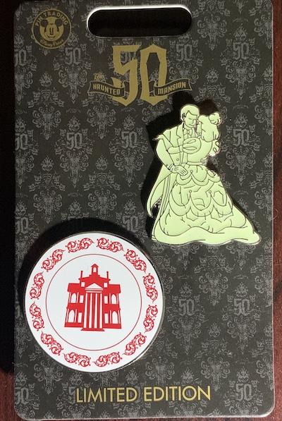 Ballroom Dancers Haunted Mansion Pin Set