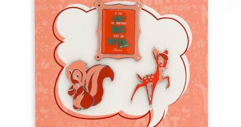 Bambi Disney Wisdom Pin Set