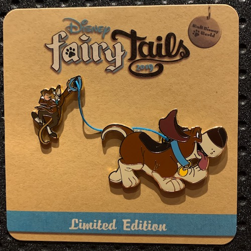 Basil & Toby On the Case Disney FairyTails Pin Set