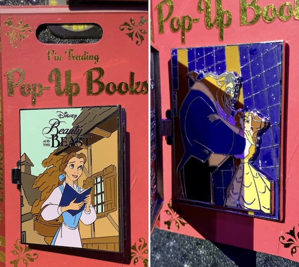 Pin Trading Pop Up Book Pin