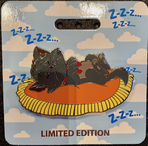 Berlioz Cat Nap WDI Pin