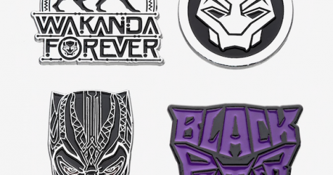 Black Panther Wakanda Forever Marvel Pin Set