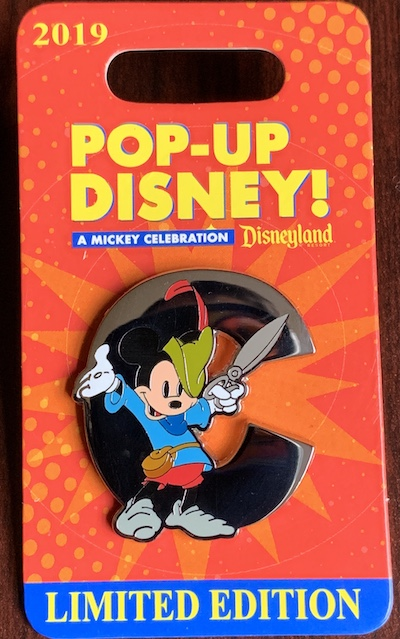 C – Pop-Up Disney! Pin