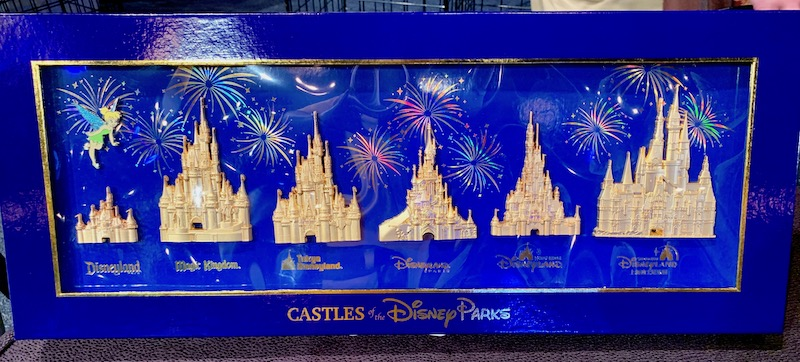 Castles of the Disney Parks 2019 Pin Set