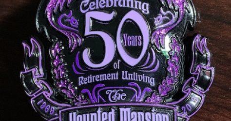 Celebrating 50 Years of Retirement Unliving Disney Pin