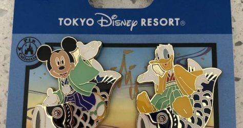 Children's Day 2019 Tokyo Disney Resort Pins
