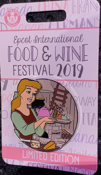 Cinderella & Gus Epcot Food & Wine 2019 Pin