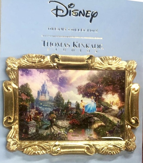 Cinderella Thomas Kinkade Disney Pin