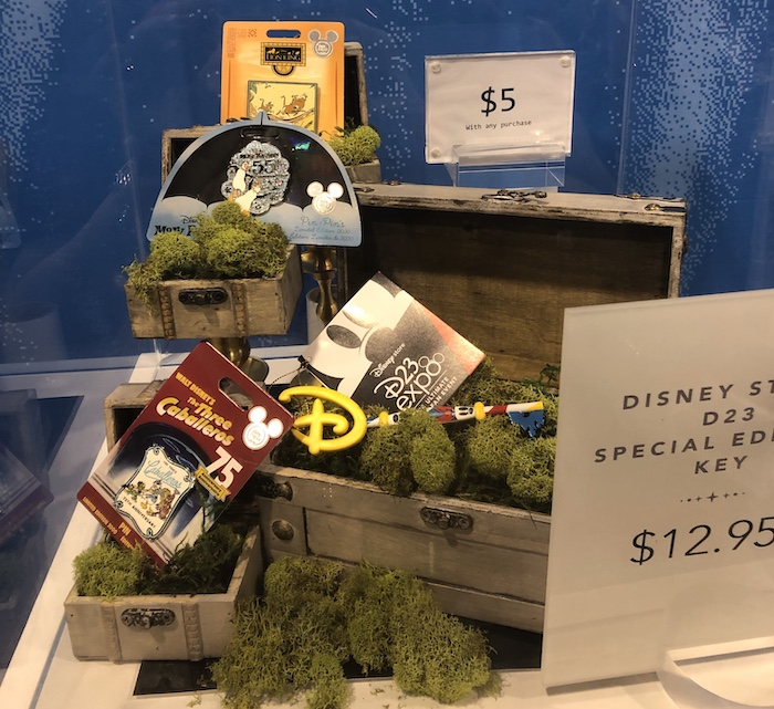 D23 Expo 2019 Disney Store Pins with Purchase