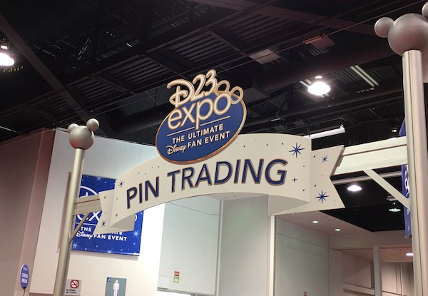 D23 Expo Pin Trading