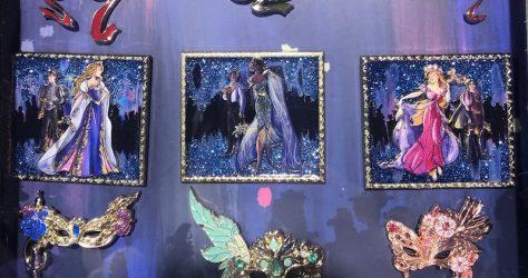 Disney Designer Collection Pin Set – Midnight Masquerade Series