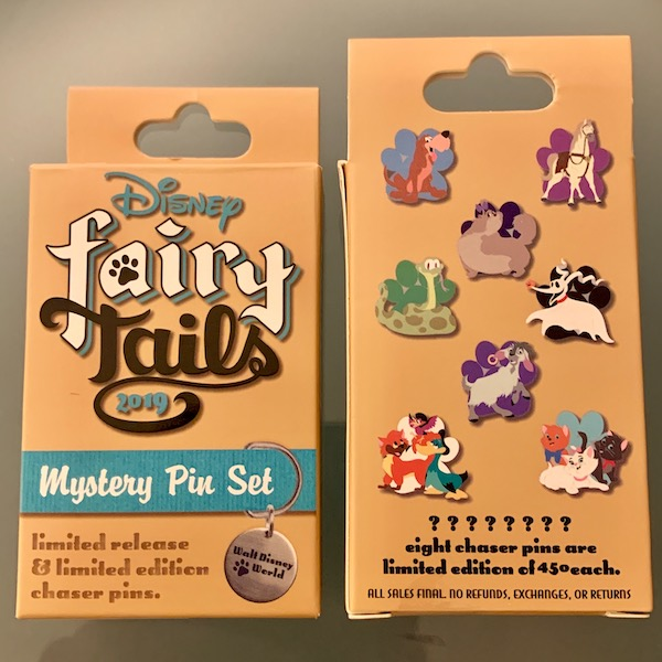 Disney FairyTails 2019 Mystery Pin Collection