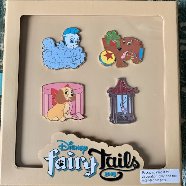 Disney FairyTails Goodbye Pin Set