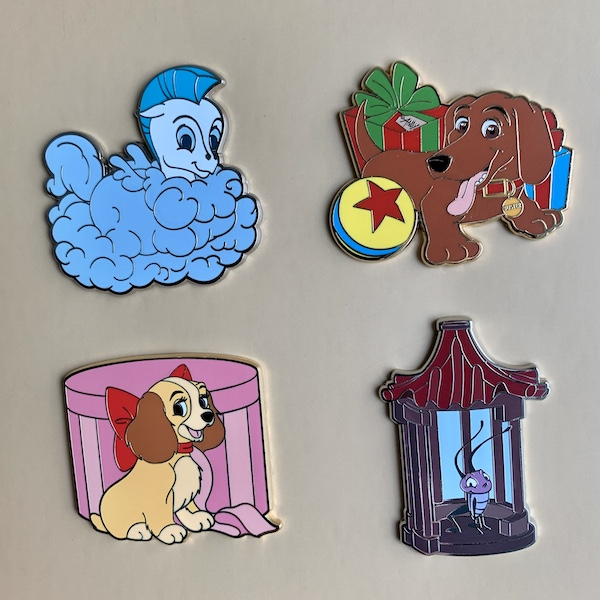 Disney FairyTails Goodbye Pins