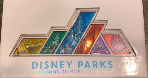 Disney Parks Imagining Tomorrow, Today Pin - D23 Expo 2019