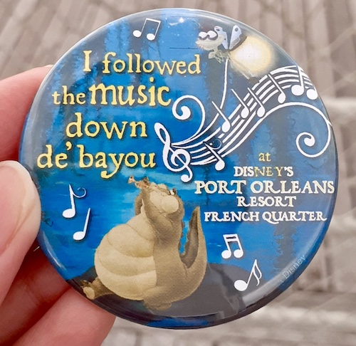 Disney's Port Orleans French Quarter 2019 Scavenger Hunt Button