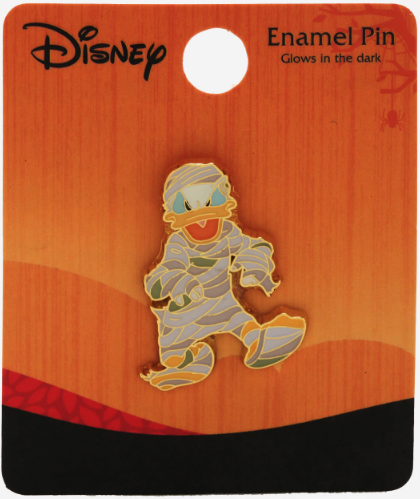 Donald Duck Mummy Glow in the Dark Pin