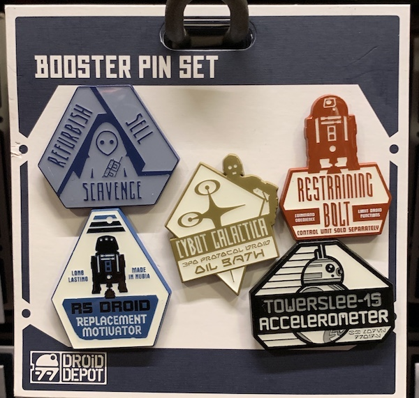 Droid Depot Booster Pin Set