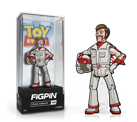 Duke Caboom Toy Story 4 FiGPiN Pin