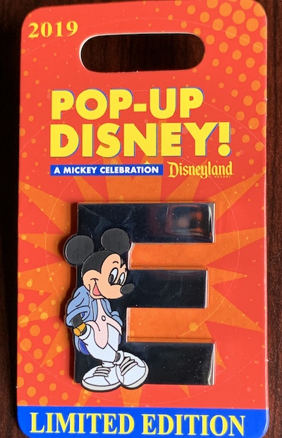 E – Pop-Up Disney! Pin