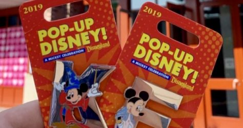 E Mickey Pop-Up Disney! Pin