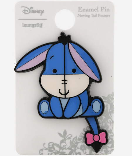 Eeyore Chibi Moving Tail BoxLunch Disney pin
