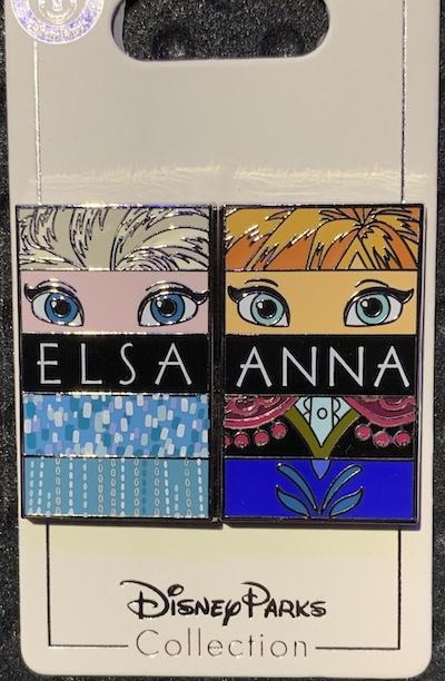 Elsa & Anna Pin Set