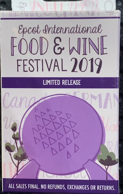 Epcot Food & Wine Festival 2019 Mystery Box