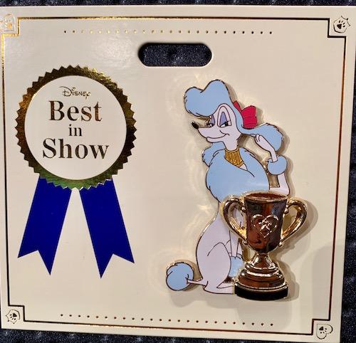 Georgette Best in Show WDI Pin