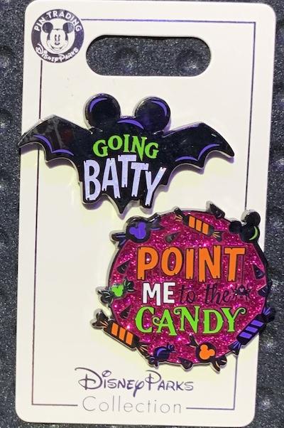 Going Batty Halloween 2019 PIn Set