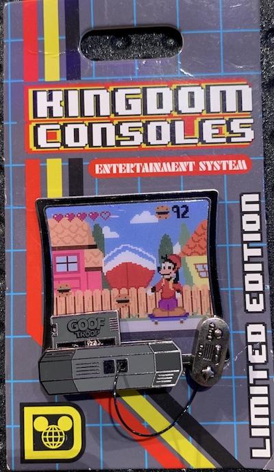 Goof Troop Kingdom Consoles Pin