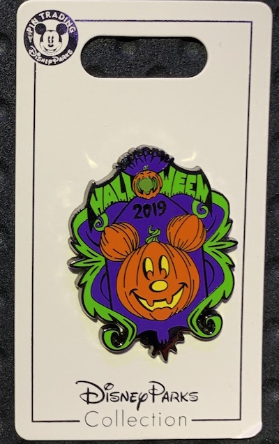 New Halloween 2019 Open Edition Pins at Disney Parks