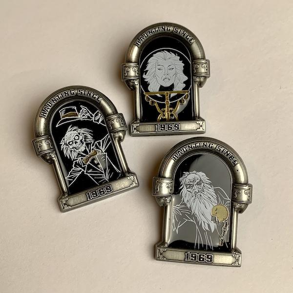 Haunted Mansion 50th shopDisney Pins
