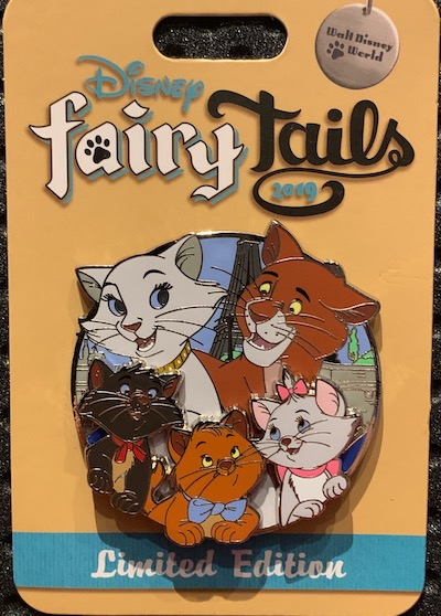 The Aristocats Disney FairyTails Pin