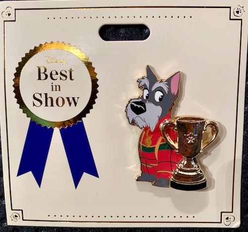 Jock Best in Show WDI Pin