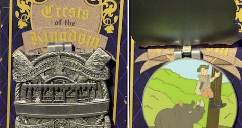 Jungle Cruise Crests of the Kingdom Pin