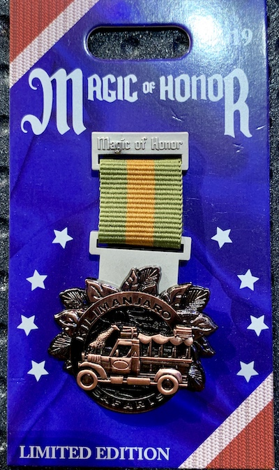 Kilimanjaro Safaris Magic of Honor Pin