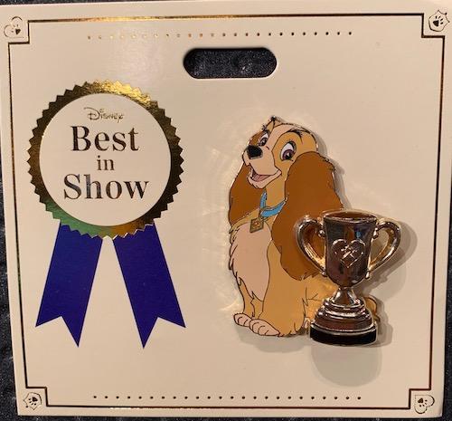 Lady Best in Show WDI Pin