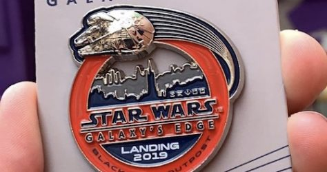 Landing 2019 Star Wars Galaxy's Edge WDW Passholder Pin