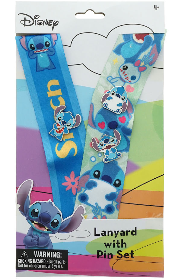 Lilo & Stitch Deluxe Lanyard Pin Set - D23 Expo 2019