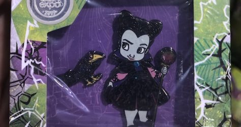 Maleficent Disney Animators Collection Pin Set