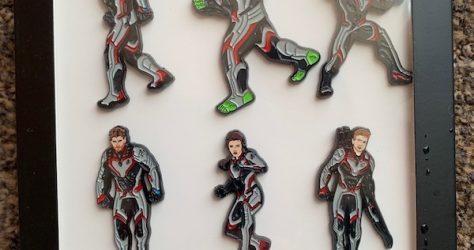 Marvel Avengers Amazon Exclusive Pin Set - D23 Expo 2019